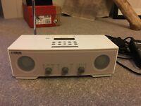 Yamaha digital clock radio I pod dock