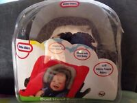 Dual head support Little Tikes - Car seat - Pram - Bouncer - Good condition