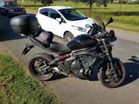 Kawasaki er6n abs with extras