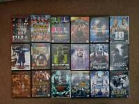 Tna/Wwe wrestling dvds £4 each