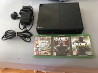 X box one 500gb with all cables,3 games(NO CONTROLLER)full working order £100 NO OFFERS.CAN DELIVER