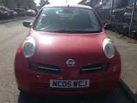 2005 nissan micra 1.2 3 door full years mot £695