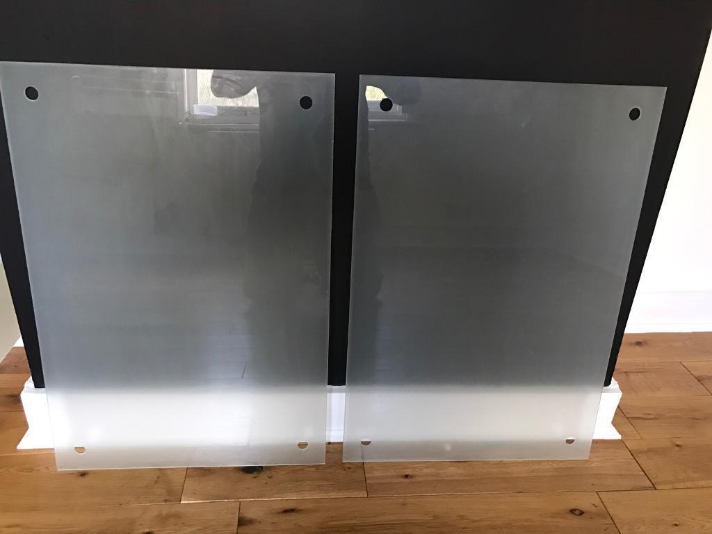 ikea kludd glass notice board x2 in purley london gumtree. Black Bedroom Furniture Sets. Home Design Ideas