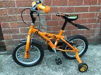 Kids 14 inch dinosaur bike for sale