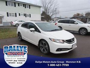 2015 Honda Civic Si! Back-Up! Alloy! Nav! Sunroof! Heated!