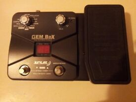 GEM BOX MULTI EFFECTS PEDAL