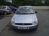 2005 FORD FIESTA , LOW MILES WITH FULL FORD SERVICE HISTORY, SERVCIED NEARLY EVERY 1200 MILES .
