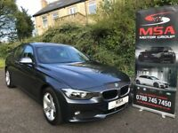 2013 BMW 320D FREE 2YRS WARRANTY FBMWSH SAT NAV LEATHER 184BHP diesel 3 series 2.0 SE m sport 4dr a4