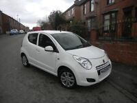 SUZUKI ALTO 1.0 SZ4 09 REG WHIT 5 DOOR LOW MILEAGE £20 YEARLY TAX 2 OWNER