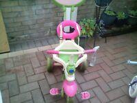 kids smart trike . in very good condition and kids balance bike