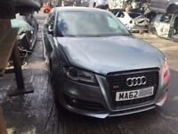 AUDI S3 RS3 BLACK EDITION 2008-2012 BREAKING SPARES TDI DOORS ALLOYS AIRBAG