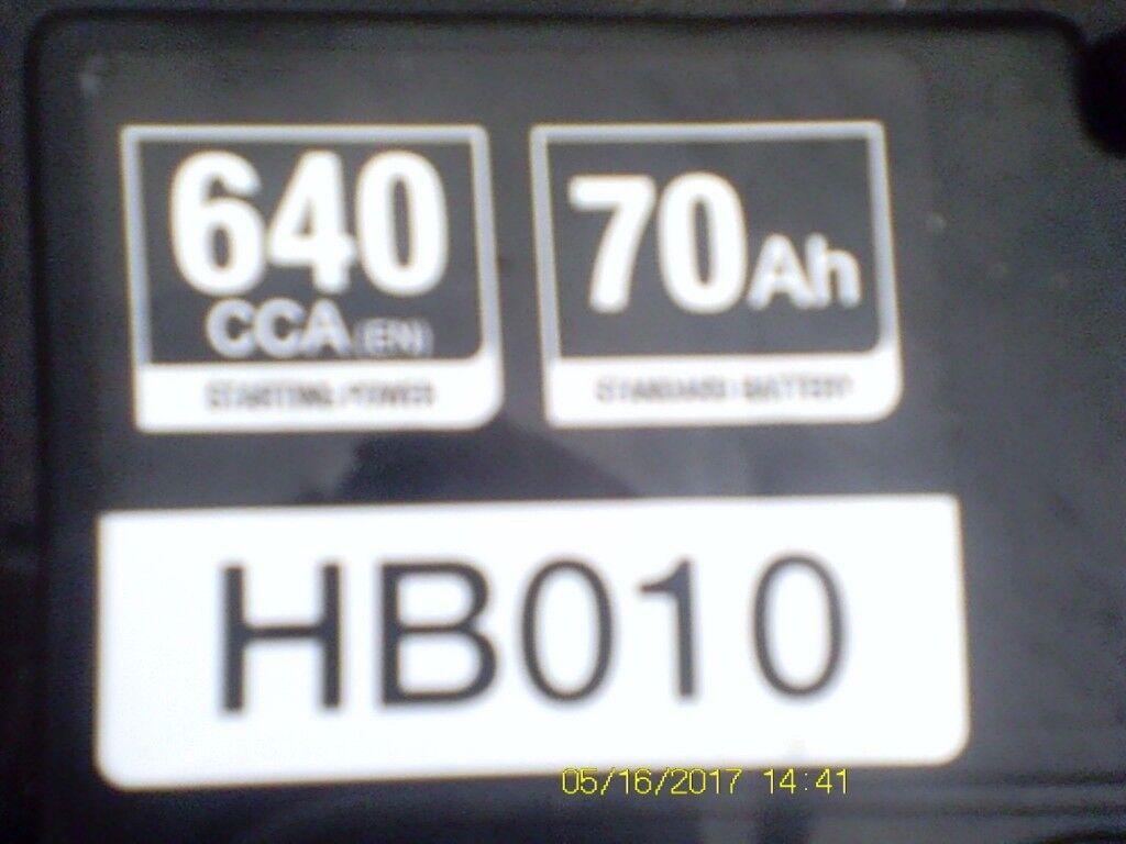 Halfords battery