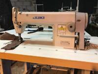 Juki original Japanese DDL-5550N flat industrial sewing machine with silent ECO motor