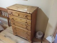 FABULOUS large chest of drawers BELFAST NEWCASTLE can deliver bedroom storage cupboard as new