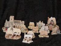 12 x Retired Lilliput Lane Houses and Lilliput Lane Cottages Joblot Collection, Bargain