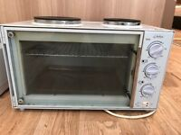 Stirflow Worktop Oven with two electric hob rings