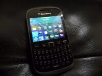 Blackberry curve 9320 on o2