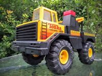 Tonka Turbo Diesel Towing Truck - RARE - good condition
