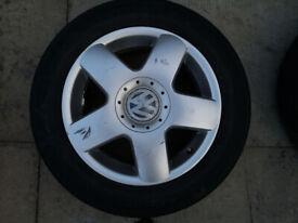 Original Volkswagen Alloy Wheels 15'