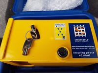 Stronghold Strongbox Hitchlock High Security For Caravans, Motorhomes & Trailers