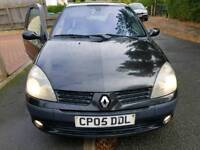 RENAULT CLIO 1.5DCI 3DOOR HATCHBACK 12MONTHS MOT 2005MODEL QUICK SALE £595
