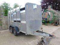 Ifor Williams Livestock trailer. 10' x 5'
