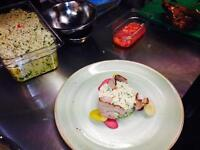 Relief Head chef for hire