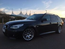 BMW 530d M SPORT 2005 full service history xenon,heated seats, Pro nav,all receipts provided