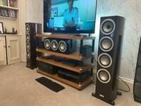 Tannoy precision surround sound speakers