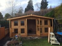 GARDEN SHEDS AND SUMMER HOUSES MADE TO ORDER ANY SIZE OR SPEC