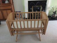 Mothercare Wood Glider Crib