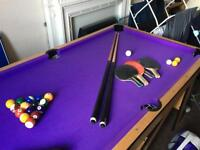 Pool Table / Table Tennis