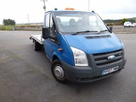 Ford Transit Recovery Vehicle 140 Bhp