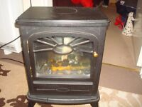 Coal effect electric fire