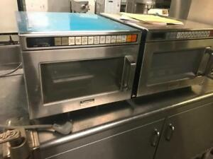 2 Commercial Panasonic microwave only $495 each ! Like new retails over $1100+