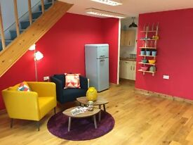 Serviced office in Brighton (North Laine) entire top floor with 8 desks