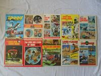 LOOK AND LEARN ANNUALS 1970s 1980s + SPEED & POWER 1978.