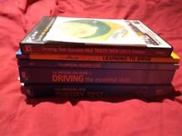 Driving theory books and CDs