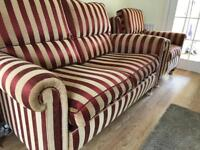 Stunning as new Duresta Sofa and armchair