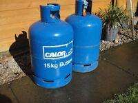 Calor Gas Bottle 15kg(blue) complete with regulator