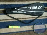 Nanoray 800 badminton racket.
