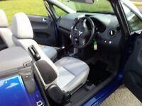 08 mitsubishi colt convertible mint 1owner no faults mot,d drives like new summer and winter car