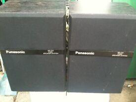Rare pair of Panasonic Speakers SB-D15 in black