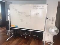 Rolling Whiteboard For Sale
