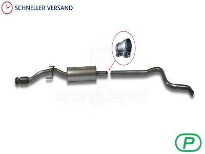 SW 1.4 1.6 70//72//80//88KW Auspuff Flexrohr Mittelschalldämpfer Peugeot 207,CC