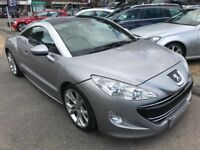 2012/12 PEUGEOT RCZ 1.6 THP GT 2DR SILVER ,AUTOMATIC,LOW MILEAGE,FULL LEATHER,HIGH SPEC,STUNNING