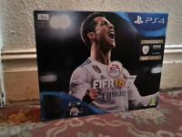 New 1tb Sony Playstation 4 PS4 slim console with Fifa 18