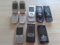 Old Samsung Mobile Phones