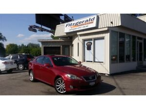 2009 Lexus IS 250 AWD - LEATHER! NAV! BACK-UP CAM!