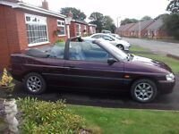 PRICED TO SELL ..... Ford Escort Convertible